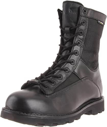 Bates Mens DuraShock Lace-to-Toe Waterproof Work Boot