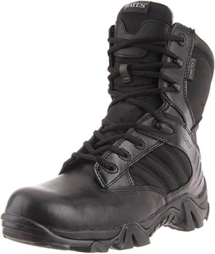 Bates Mens GX-8 Gore-Tex Waterproof Side Zip Boot