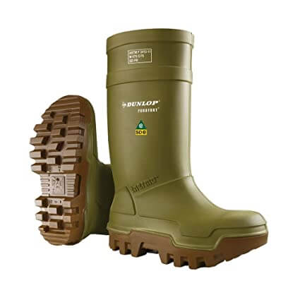 Dunlop Purofort Thermo waterproof police boot