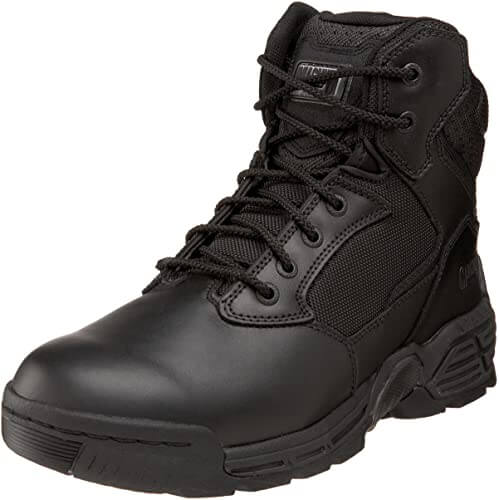 Magnum Mens Stealth Force 6.0 Side Zip waterproof police boots