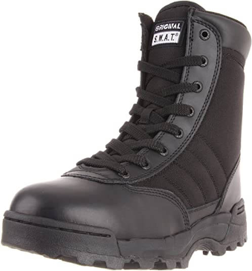 Original S.W.A.T. Mens Classic Side Zip Work Boot