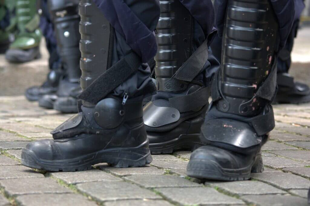 Police Patrol Boots