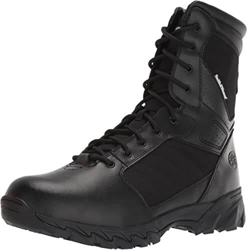 Smith & Wesson Mens Breach 2.0 Tactical Size Zip Boots