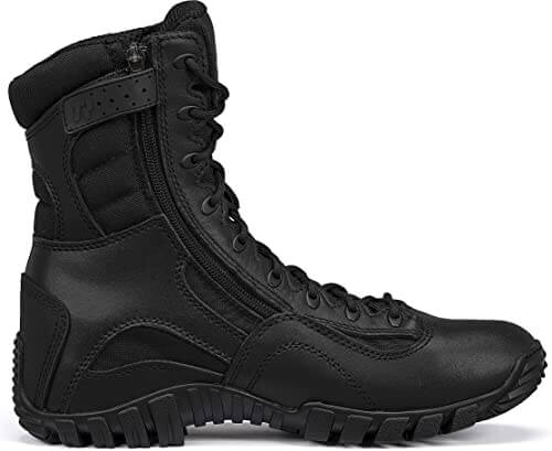 TACTICAL RESEARCH TR Mens Khyber TR960Z Lightweight Side-Zip Tactical Boot