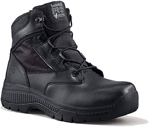 Timberland PRO Mens Valor Soft-Toe Side-Zip Work Boot