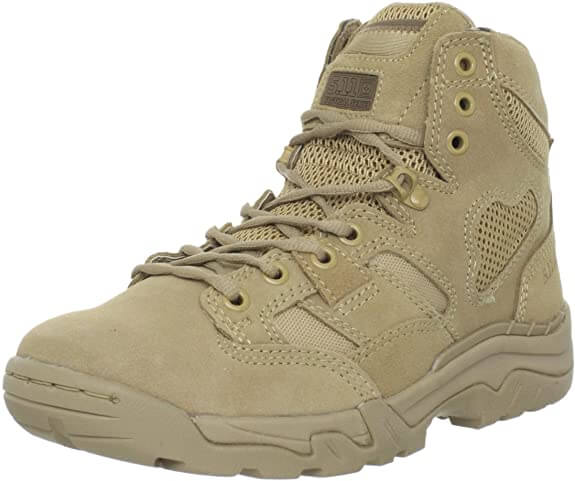 5.11 Tactical Men Taclite work boots for hot weather