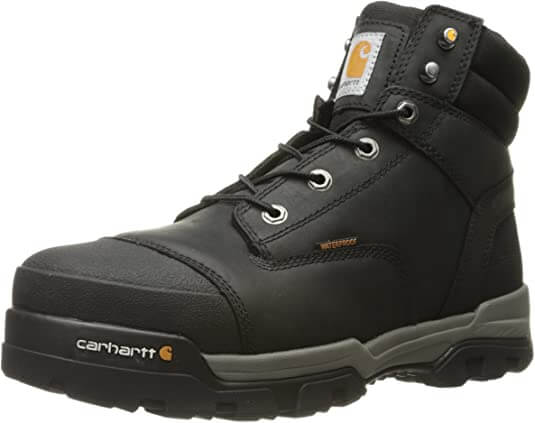 Carhartt Men Energy Black Waterproof Composite Toe CME6351 Industrial Boot