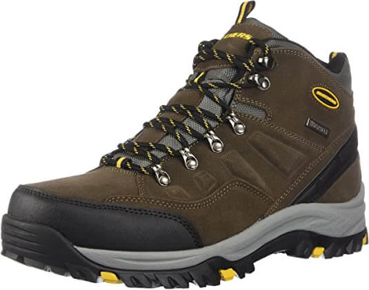 Skechers Relment work boots for wet conditions