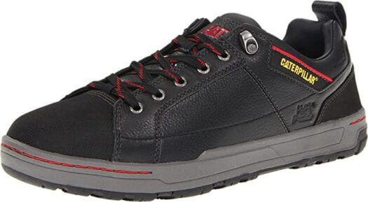 Caterpillar Men Brode Steel-Toe Work Shoe