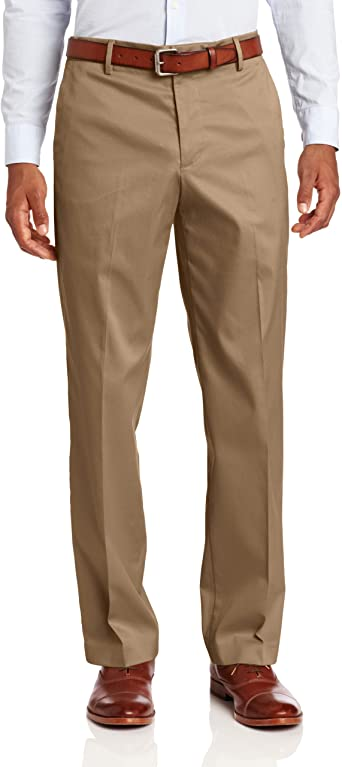 Dockers Men Classic Fit Iron-Free Khaki Pant D3 Flat Front Stretch
