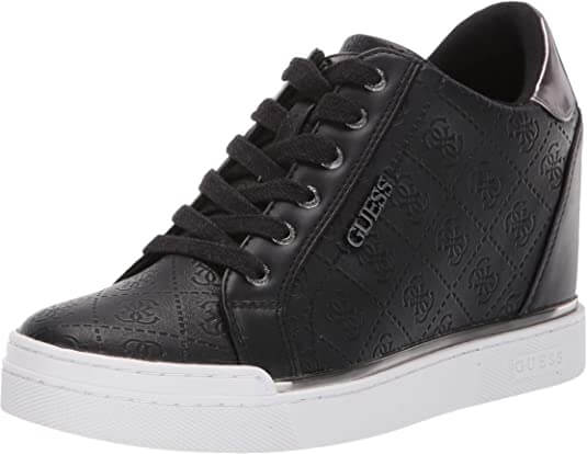 GUESS Women Flowurs Sneaker What Shoes To Wear With Joggers
