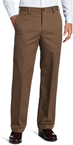 IZOD Men American Chino Flat Front Straight Fit Pant