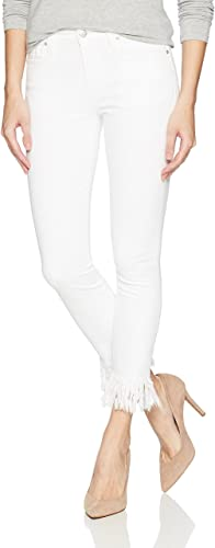 Joe Jeans Women Icon Mid-Rise Skinny Crop Jean