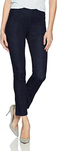 NYDJ Women Pull on Skinny Ankle Jean with Side Slit