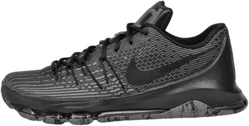Nike Men Kevin Durant KD 8 VII Blackout Basketball Shoes