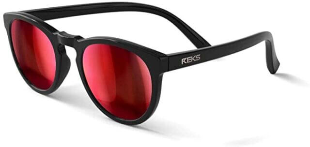 REKS Polarized Round glasses - Unbreakable frame