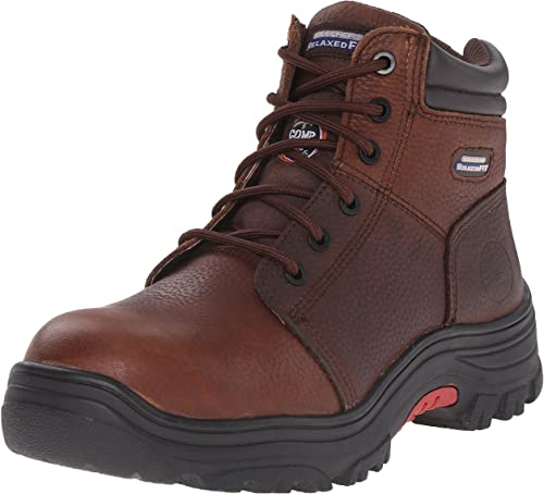 Skechers for Work Men Burgin Comp Toe Work Boot