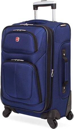 SwissGear Sion Softside Luggage Suitcases For Teens