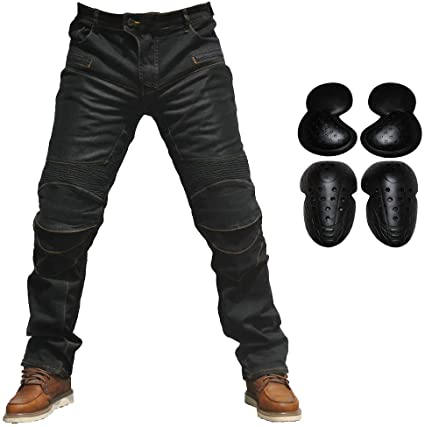 TAKUEY Motorcycle Pants With Knee And Hip Pads