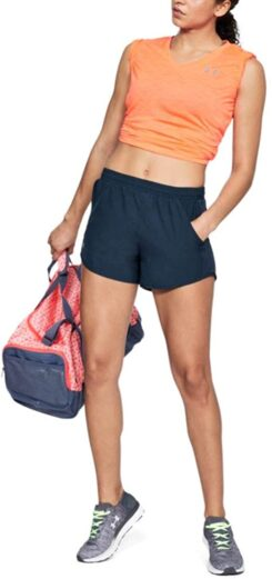 Under Armour Women Fly By Running Shorts