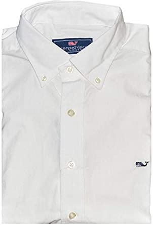 Vineyard Vines Men Slim Fit Button Down Whale Dress Shirt