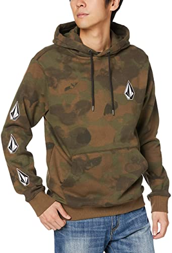 Volcom Men Deadly Stone Pullover Best Snowboard Hoodies