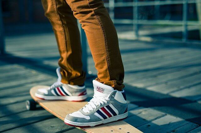best sneakers under $200 on skateboard