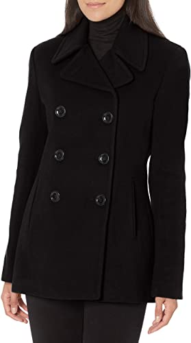 Calvin Klein Women Double Breasted Coats For Petites