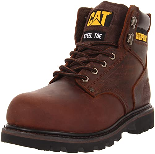 Caterpillar Men Second Shift Steel Toe Work Boot