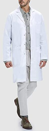 Dr. James Unisex Lab Coat Classic Fit