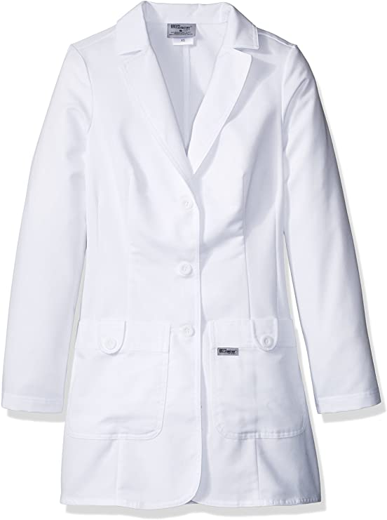 Grey Anatomy Women 32 Inch Two Pocket Fitted Lab Coat