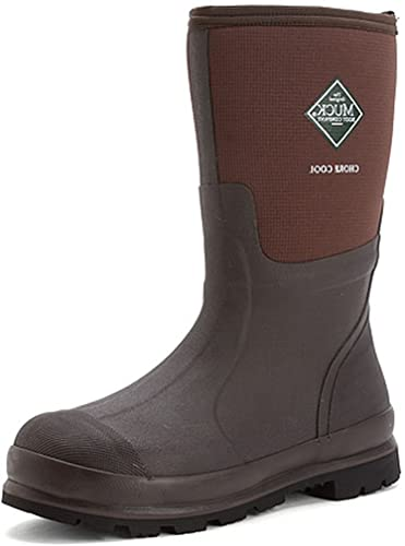 Muck Boot Chore Cool Soft Toe Warm Weather Men Rubber Work Boot