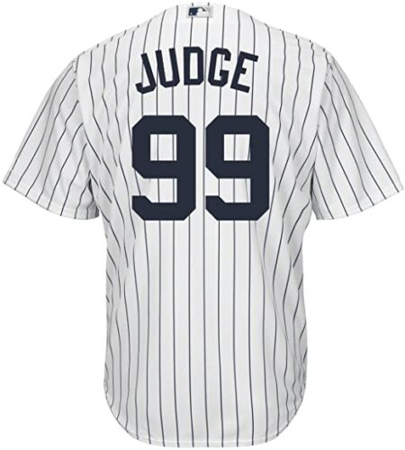 Outerstuff Aaron Judge New York Yankees Youth Cool Base Home Jersey