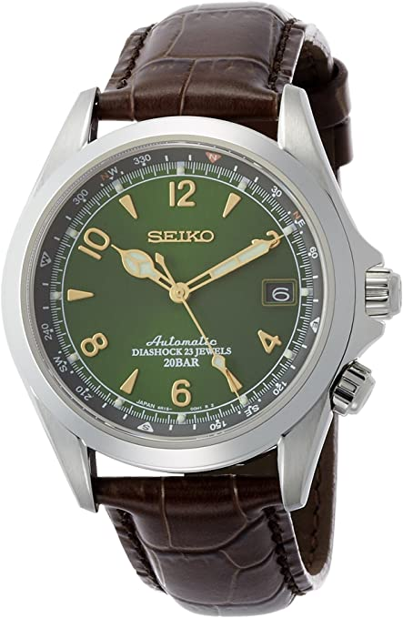 Seiko Men Stainless Steel mechanical watches