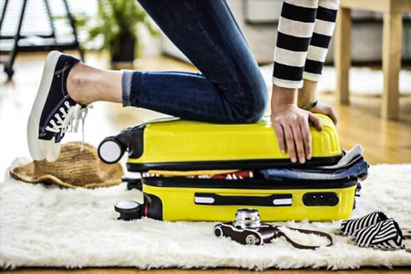 Suitcases-For-Tweens-in-yellow-along-girl