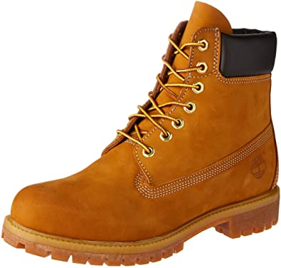Timberland Men Premium Waterproof Wheat Nubuck Work Boot
