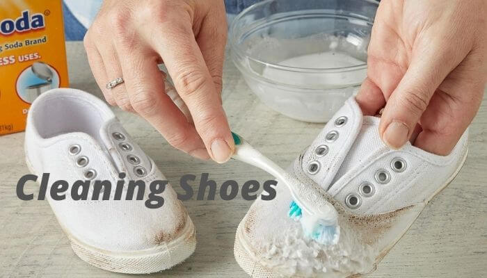 Cleaning Shoes for storing